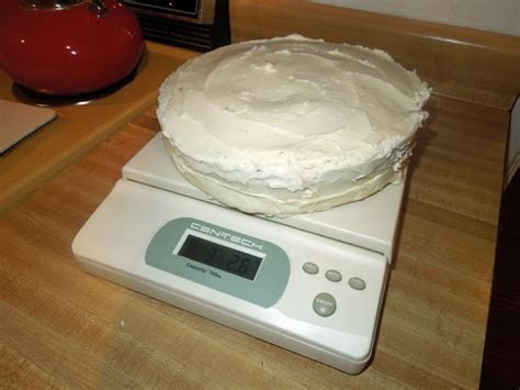 How Much Does a Birthday Cake weigh?