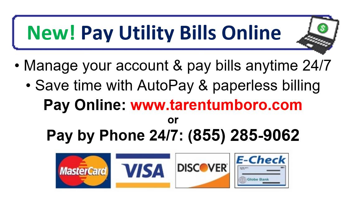 Make A Payment • Tarentum Borough