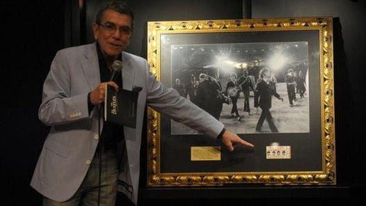 Juan Alberto Badía.El mayor coleccionista sudamericano de los Beatles. (Germán Adrasti)