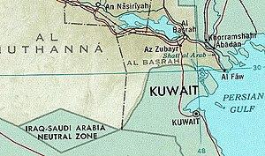 The Neutral Zone (along with Basra, Iran, Kuwa...