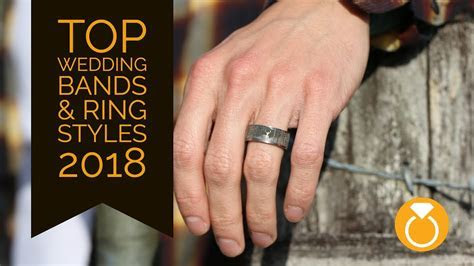 Top Trending Mens Wedding Bands & Rings of 2018   YouTube