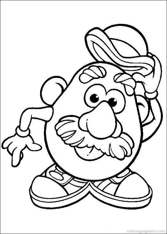 Mr Potato Head Drawing at GetDrawings | Free download