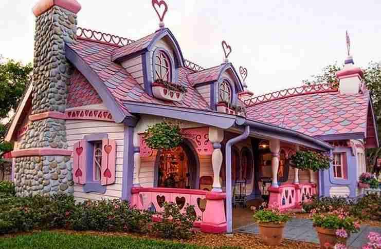 28 παραμυθένια σπίτια που.. υπάρχουν πραγματικά!
