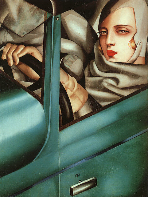 Tamara de Lempicka, Self-Portrait, 1925
