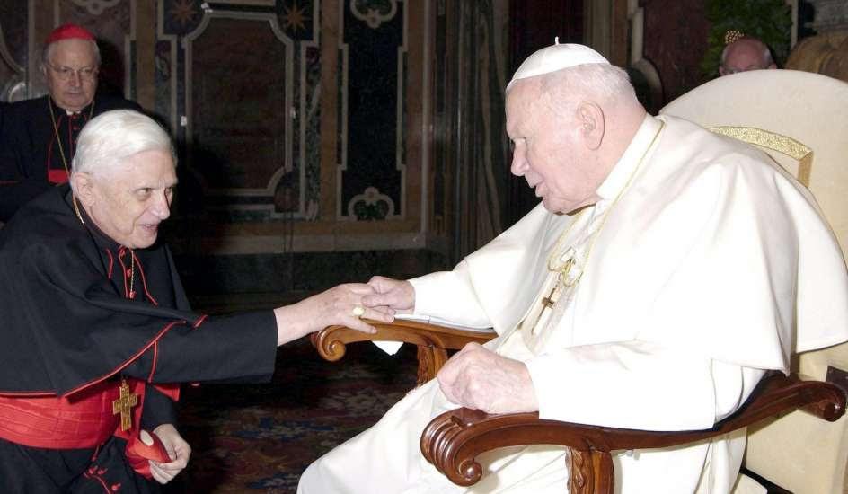 De Juan Pablo II a Ratzinger