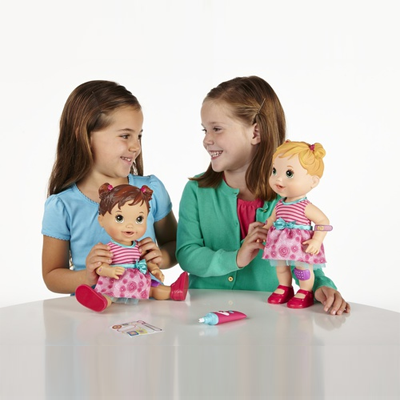 Toy Worldz Baby Alive Baby Gets A Boo Boo Doll