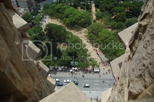 View From Sagrada Familia Spires [enlarge]