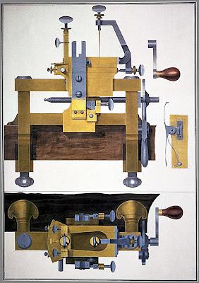 Machine à marquer les cuirs  de Mer(c)klein L'Aine