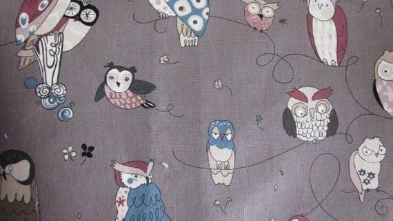 Alexander Henry Spotted Owl Grey