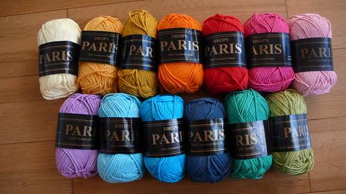 Drops Paris yarn