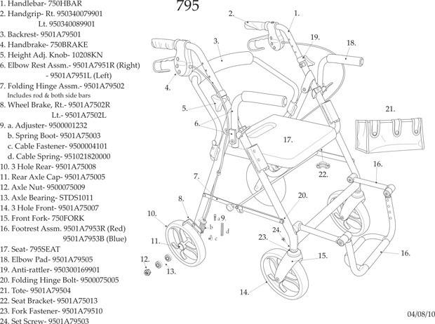 30 Hoyer Lift Parts Diagram