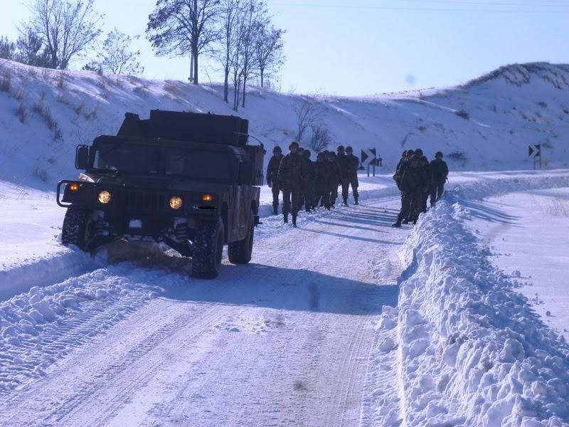 """Τα χιόνια δεν σταμάτησαν την XVI Μηχανοκίνητη Μεραρχία Πεζικού - """"Απόβαση"""" στον βόρειο Έβρο (φωτο)"""