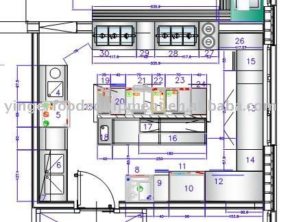 Restaurant Kitchen Blueprint hotel restaurant kitchen design, commercial kitchen layout & hotel