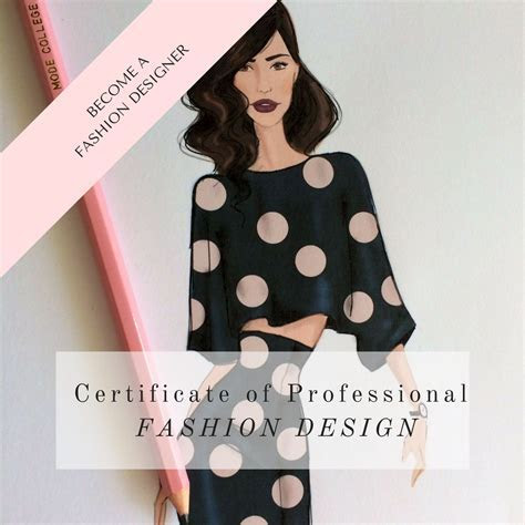 Certificate of Professional Fashion Design Course Online