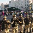 Protesto em Belo Horizonte tem 11 detidos (Reprodução/TV Globo)