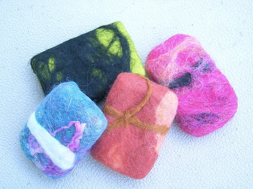 Mini-Felted Soaps