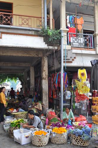 ubud market scene