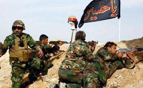 Hashd al-Shaabi militants. Rudaw photo.