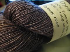 Dye For Yarn 100% Tussah Silk