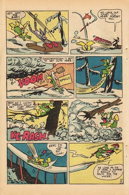Lucky Duck Irv Spector comic book scans 08