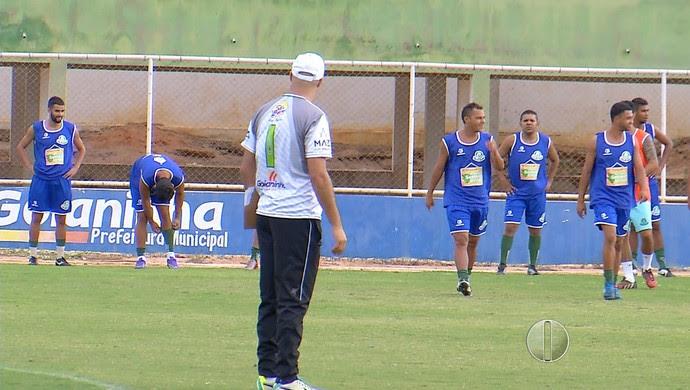 Palmeira-RN treino Nazarenão (Foto: Reprodução/Inter TV Cabugi)