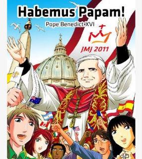 História em quadrinhos vai narrar vida de Bento XVI