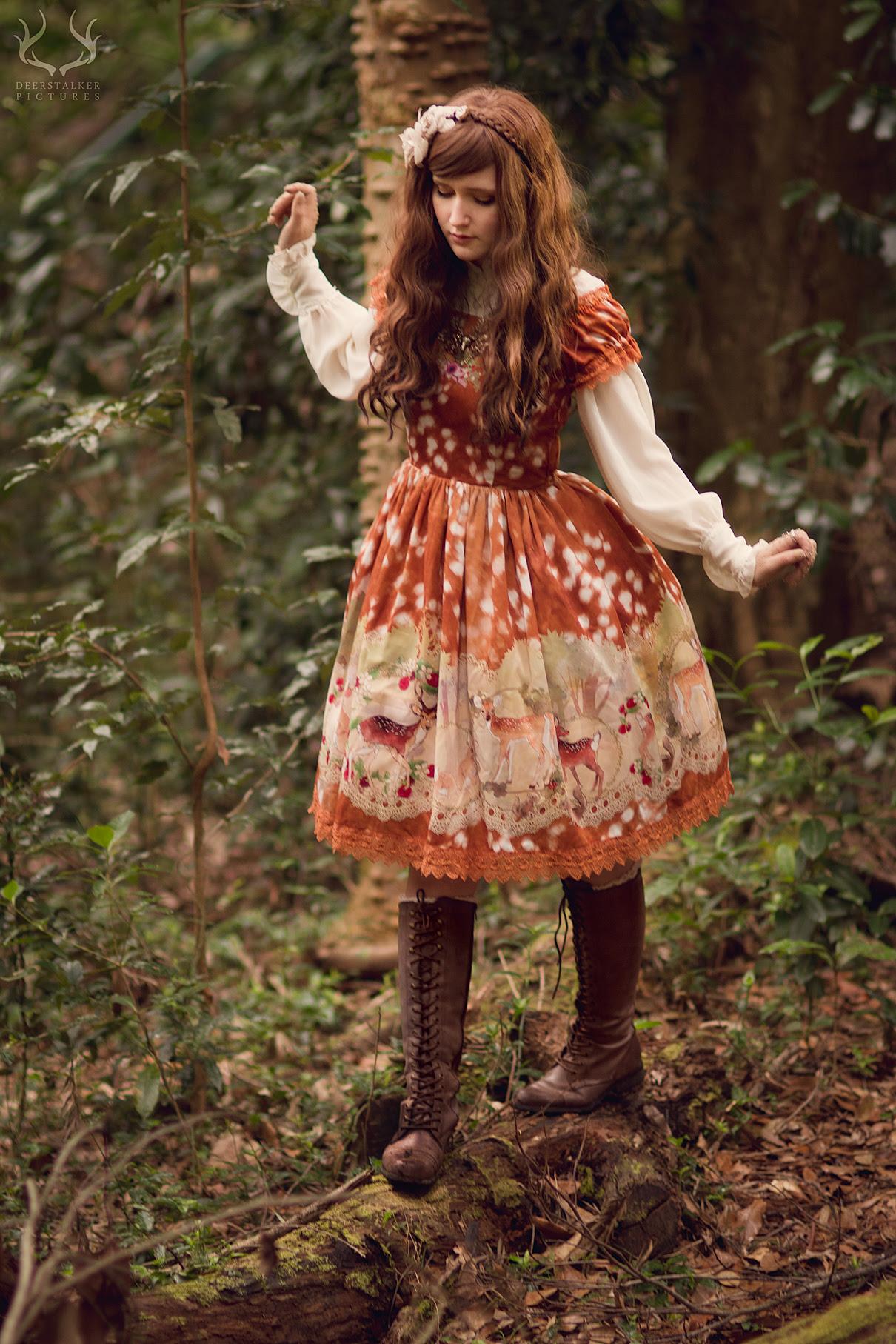 Haenuli - Enchanted Fawn series JSK - Deerstalker