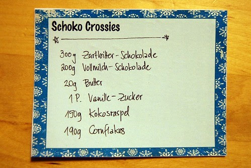 Schoko-Crossies.