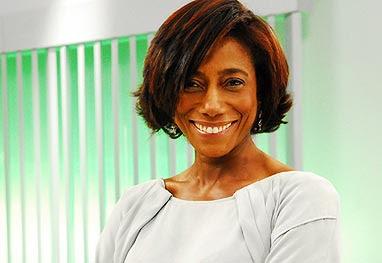 Glória Maria foi barrada no backstage do desfile de Gisele Bündchen - Divulgação/TV Globo