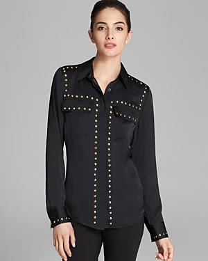 MICHAEL Michael Kors Studded Shirt