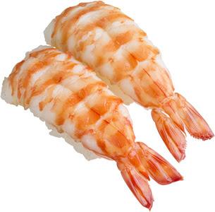 回転寿司のスシロー車えび南蛮えび甘えび多種多様なえびの甘みと