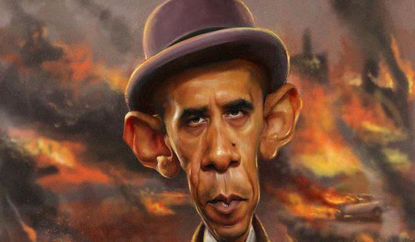 Barack à frites dans ses oeuvres