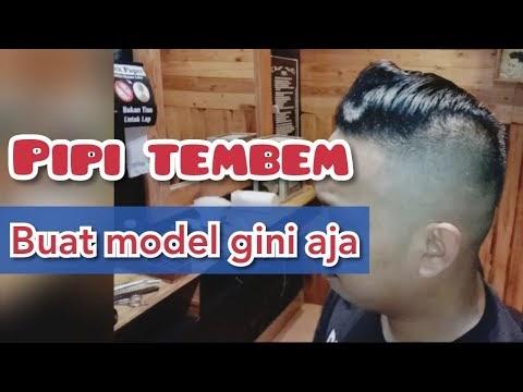 Populer Undercut Muka Tembem Model Rambut Pria Undercut ...