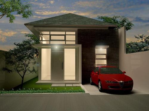 Desain Rumah Minimalis Modern Type 36 1 Atau 2 Lantai