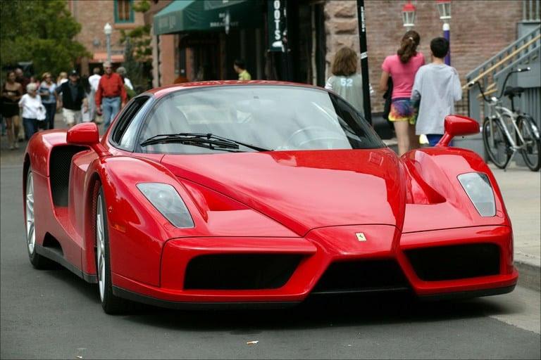 Rich Jerk Abandoned a $1.6 Million Ferrari Enzo in Dubai ...