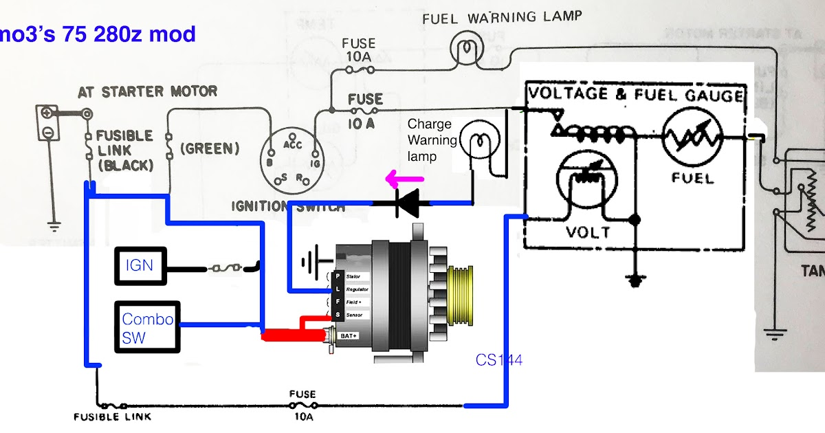 Wiring Diagram Gm 10si Alternator Issues In A | schematic ...