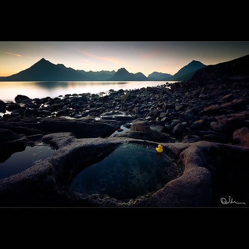 A Calm Evening over Elgol by David Hannah
