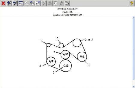 1988 Ford F 150 Engine Diagram Wiring Data