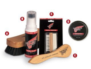 Red Wing Buffing Brush 95164