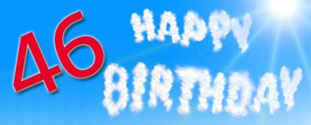 46 Geburtstag Glückwünsche