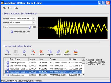 abs audioroom cd recorder  editor obrobka  konwersja