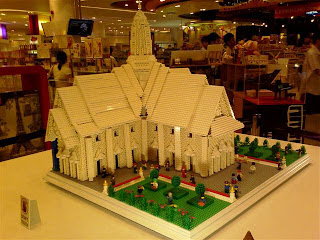 LEGO creation by Jumpei Mitsui on display at Siam Paragon