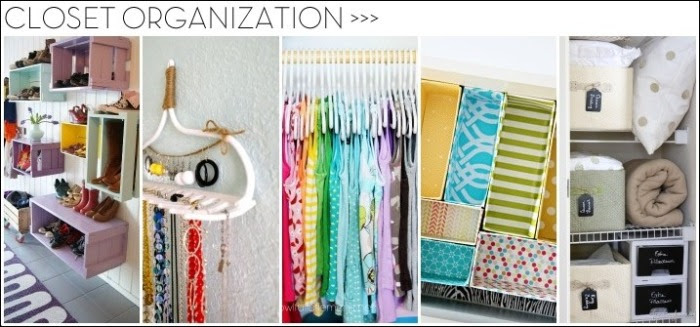 13+ Organizational Ideas for CLOSETS: Tips + Tricks to help organize every all types of closets!