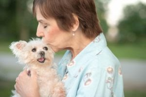 Senior Rescue Dog Diagnosed with Brain Tumor Fights for Her Life