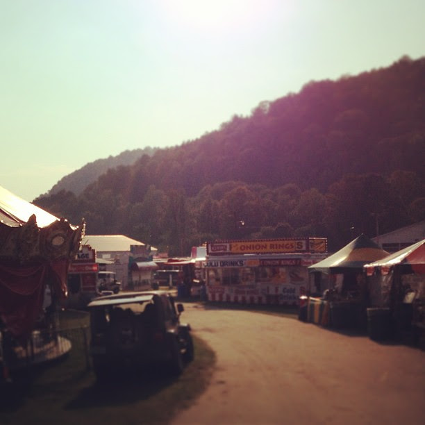 Just dropped off my entries to the Tunbridge Fair. The air already smells like fried everything.