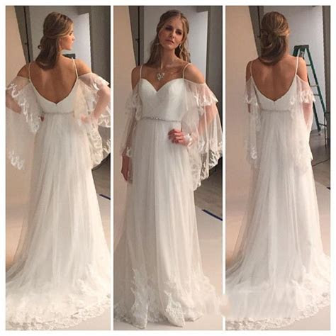 Greek Country Style Boho Wedding Dresses 2015 Plus Size