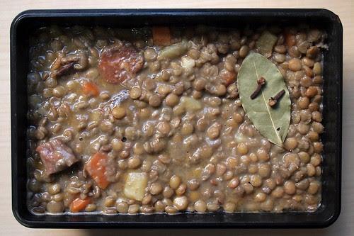 Lentejas / Spanish lentil stew