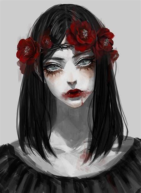 vampire tumblr character art anime art