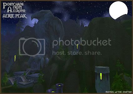 Postcards of Azeroth: Aerie Peak