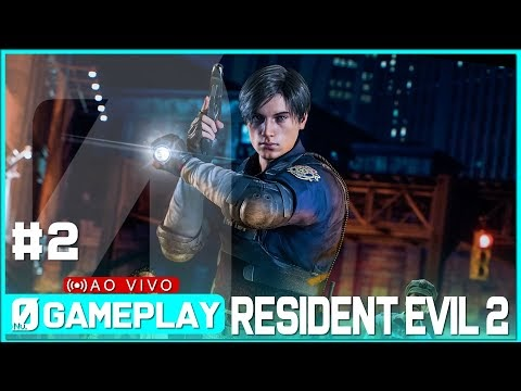 RESIDENT EVIL 2 remake #2 Esgotos de Raccoon City (PT-BR) NextPlay| #Nv0Live